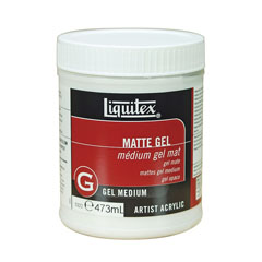 Mat gel medium Liquitex 437 ml