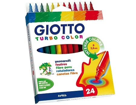 Flomasteri GIOTTO TURBO COLOR / 24 boja