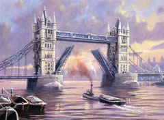 Kreativni set za slikanje - Tower Bridge A3