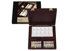 Koferčić / Akvarel boje REMBRANDT  Traditional BOX 12x5ml