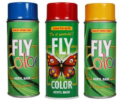 Akrilni lak u spreju FLY COLOR 400 ml / izbor nijansi